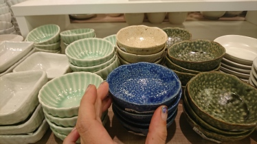 mini dishes so colorful